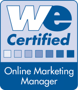 Zertifikat Online Marketing Manager